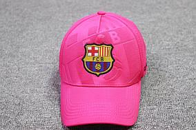 Футбольная кепка Барселона  розовая