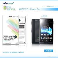 Защитная пленка Nillkin для Sony Xperia Go (ST27i) глянцевая
