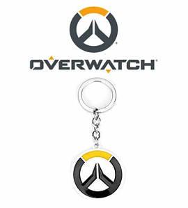 Брелок Overwatch двухсторонний