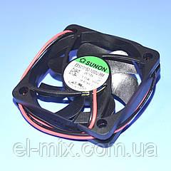 Вентилятор  12VDC, 50х50х10мм, (скольжения)  Sunon EB50101S2-1000U-999