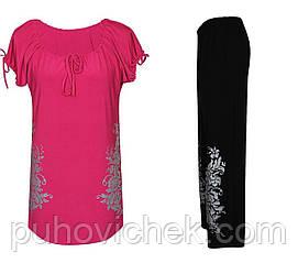 Літні жіночі костюми туніка і брюки-інтернет магазин