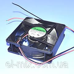Вентилятор  12VDC, 80х80х25мм, (скольжения)  Sunon EB80251S3-1000U-999