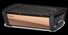Угольный настольный гриль Enders Aurora Mirror - copper (медь) с LED подсветкой  скидки + бонус + по