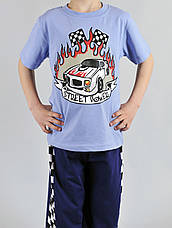 Пижама для мальчика street power 4 шт, фото 3