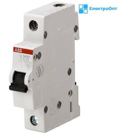 Автоматичний вимикач SH201-C 20A автомат ABB ( АББ ), фото 2