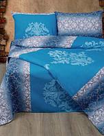 Постельное белье Lotus Ranforce Chris синий евро