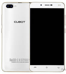 Смартфон ORIGINAL CUBOT Rainbow 2 White (4 Core; 1.3Ghz; 1GB/16GB; 2350 mAh)