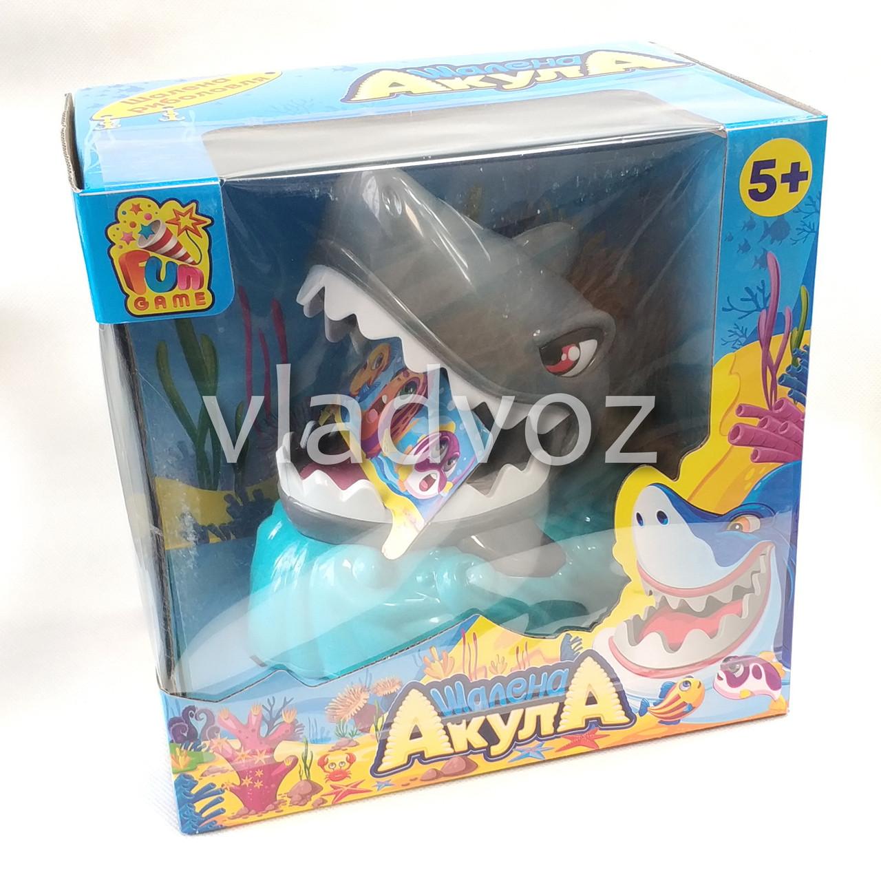 фото упаковки Развлекательная игра бешеная Акула