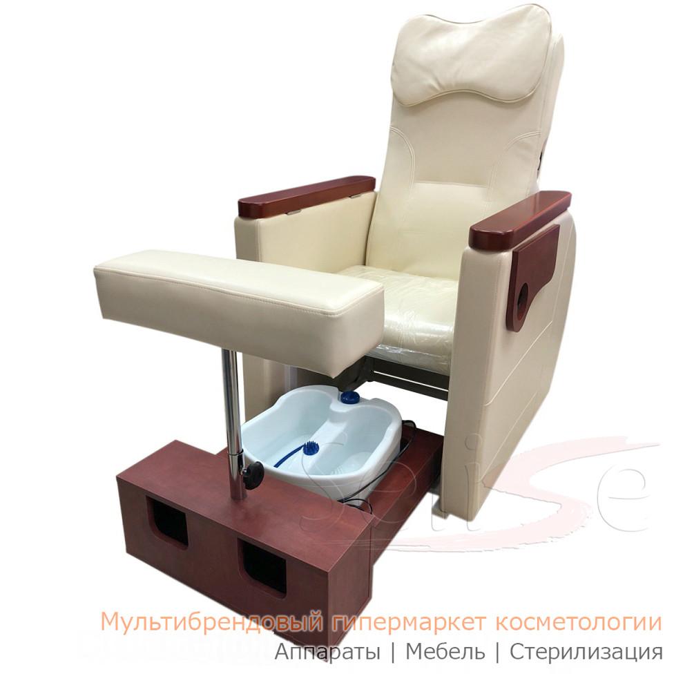 Педикюрное кресло с гидромассажной ванночкой для ног SPA-102
