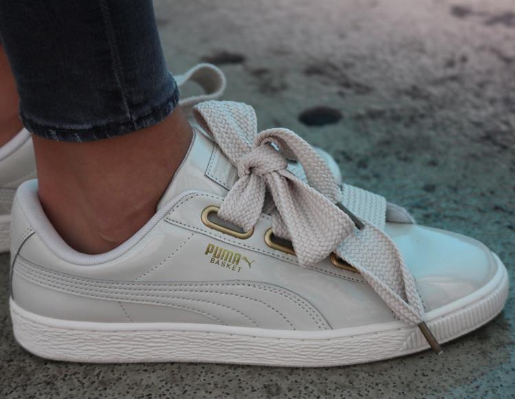 Оригинальные женские кроссовки Puma Basket Heart 40.5-41р. 363073-03