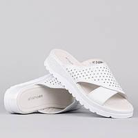 Шлепанцы Allshoes F09020-2 WHITE 36, фото 1