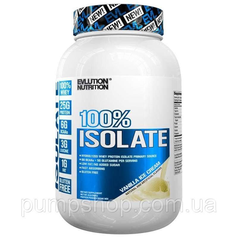 Сывороточный изолят Evlution Nutrition 100% Isolate 907 г (уценка)