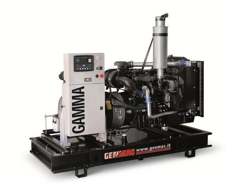 Трехфазный дизельный генератор Genmac Gamma G76 DO (65 кВт)