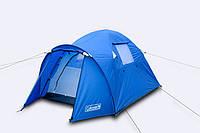 Туристическая двухслойная  двухместная палатка Coleman 3006