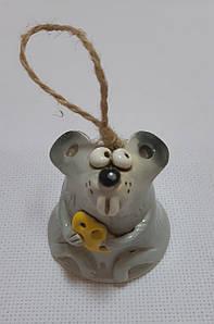 Колокольчик (м.) «Мышка» лепной