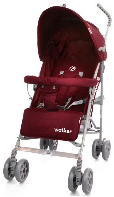 Детская коляска -трость Babycare Walker BT-SB-0001 Red во льне