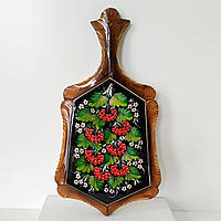 Доска кухонная с петриковской росписью, фото 1