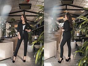 """Деловой женский костюм-тройка """"Milliner"""" с кардиганом (14 цветов), фото 2"""