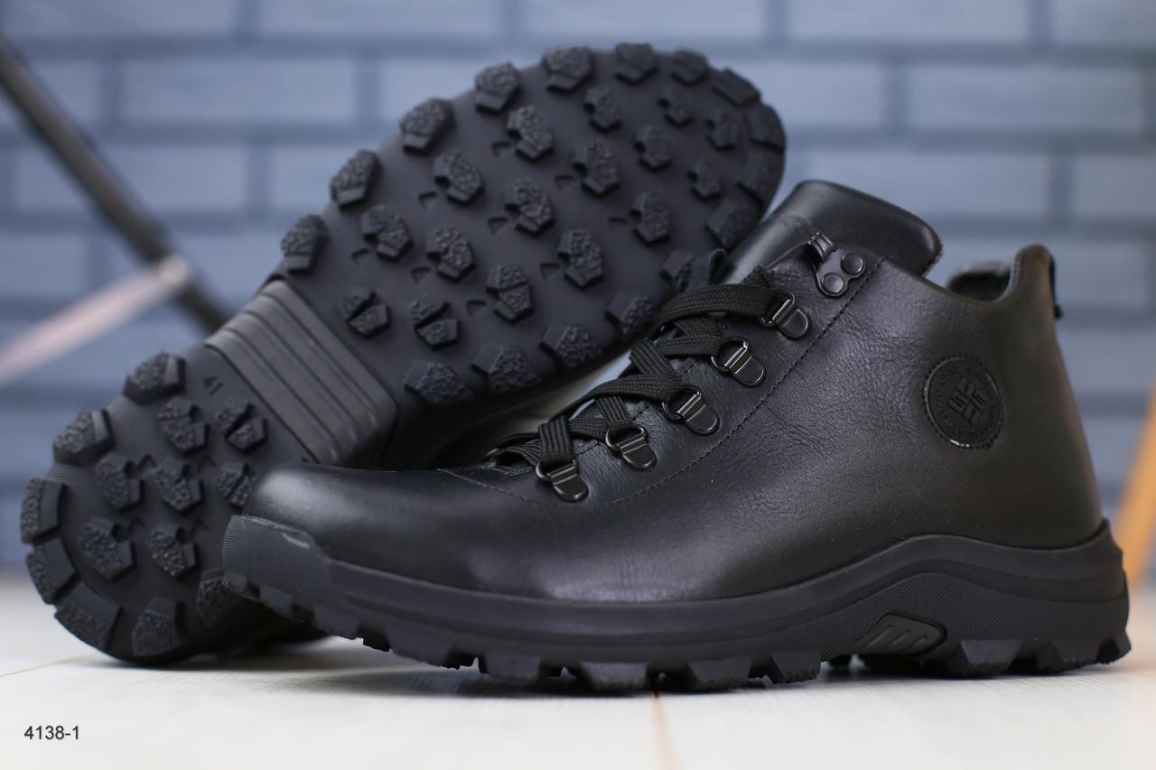 000b0f0b0 Зимние кожаные мужские ботинки на шнурках: продажа, цена в Черкассах ...
