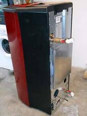 Пеллетная печь котел Nordica MELINDA IDRO бордовая, фото 3