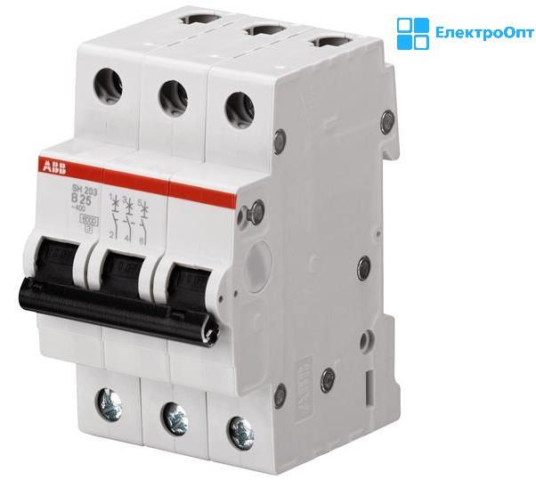 Автоматический выключатель (SH) SZ203-C 10A автомат ABB ( АББ )
