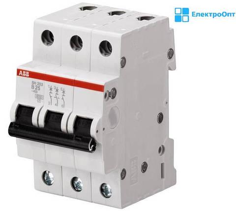 Автоматический выключатель (SH) SZ203-C 10A автомат ABB ( АББ ), фото 2