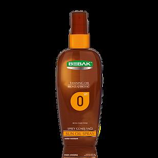 Олія-спрей для засмаги Sora Cosmetics Bebak SPF 10 150 мл (4315009)