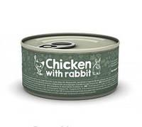 Naturea (Натуреа) Chicken & Rabbit Консервы для кошек с курицей и кроликом 80гр