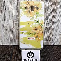 Чехол с рисунком для Samsung A5 2015 (A500) Цветы