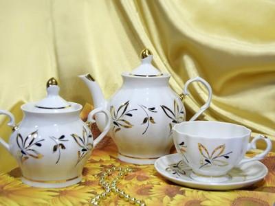 Сервиз чайный 14 предметов Раница Блеск 8С0776Ф34 Добруш
