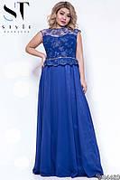 Женское вечернее платье батал, фото 1