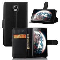 Чехол-книжка Litchie Wallet для Lenovo A2010 Черный