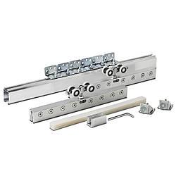 Раздвижная система для стеклянных дверей Новатор 110 2м