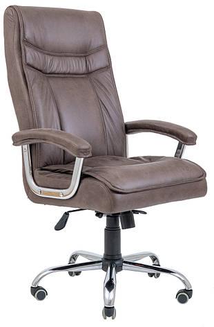 Кресло компьютерное Бургас Ю (Хром), фото 2