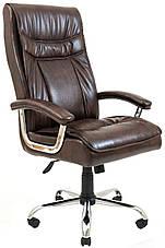 Кресло компьютерное Бургас Ю (Хром), фото 3