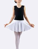 Юбка для танцев хб белая Dance&Sport N005