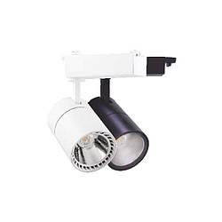 Трековый светильник 8w AL100 Feron 4000К белый/черный