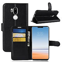 Чехол-книжка Litchie Wallet для LG G7 Черный