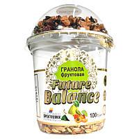 Гранола с орехами и фруктами Spektrumix FUTURE BALANCE Фруктовая, 100 г (стакан), на грушевом соке