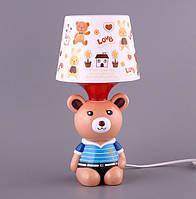 Детский светильник, ночник Мишка 39-222