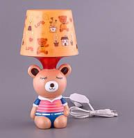 Детский светильник, ночник Мишка 39-223