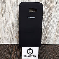 Силиконовый чехол для Samsung A5 2017 (A520) Черный