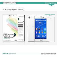 Защитная пленка Nillkin для Sony Xperia Z3 (L55) глянцевая