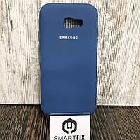 Силиконовый чехол для Samsung A5 2017 (A520) Синий