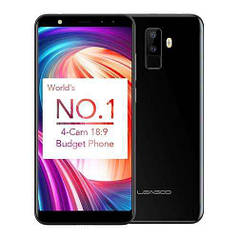 Смартфон ORIGINAL Leagoo M9 Black (4Х1.3Ghz; 2Gb/16Gb; 8+3МР/5МР; 2850 mAh)