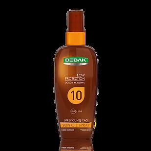 Олія-спрей для засмаги Sora Cosmetics Bebak SPF 0 150 мл (4315008)