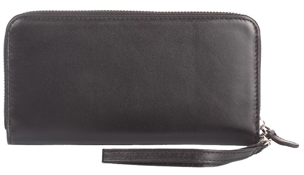 Женский кожаный кошелек CANPELLINI SHI709-1 черный