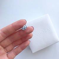 Бусина с голубыми камнями