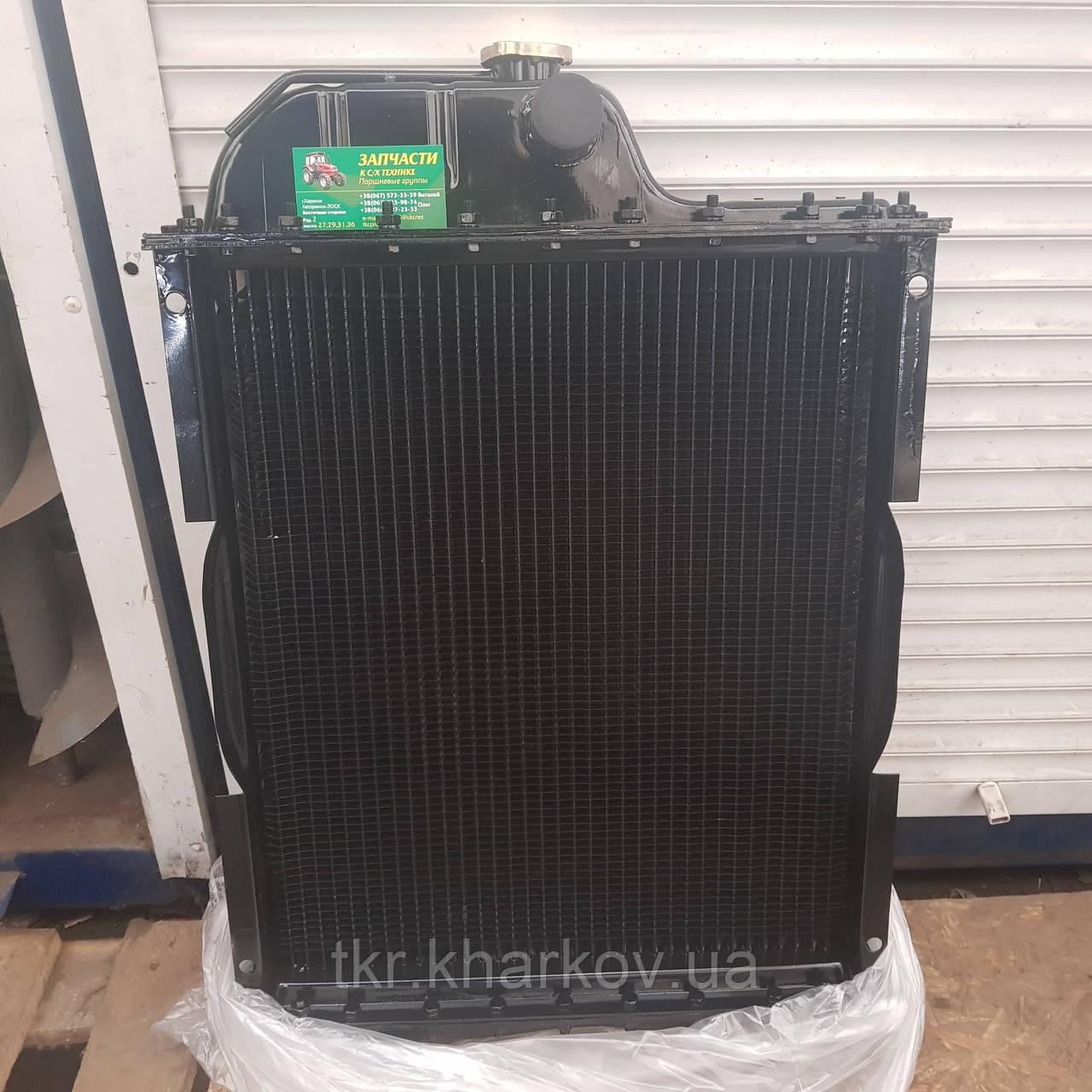 Радиатор водяного охлаждения МТЗ-80  МТЗ-80 70П-1301.010  Д-240,243 (4-х рядн.) латунный