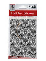 Nail Art Stickers BP052 Black